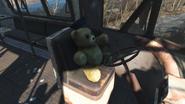 FO4 Teddy bear north of Egret Tours Marina