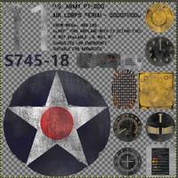 FO76 Biplane Texture Details