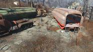 FO4 Settler campsite Natick 2