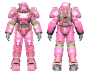 FO4CC T-60 power armor Slocum's Joe pink