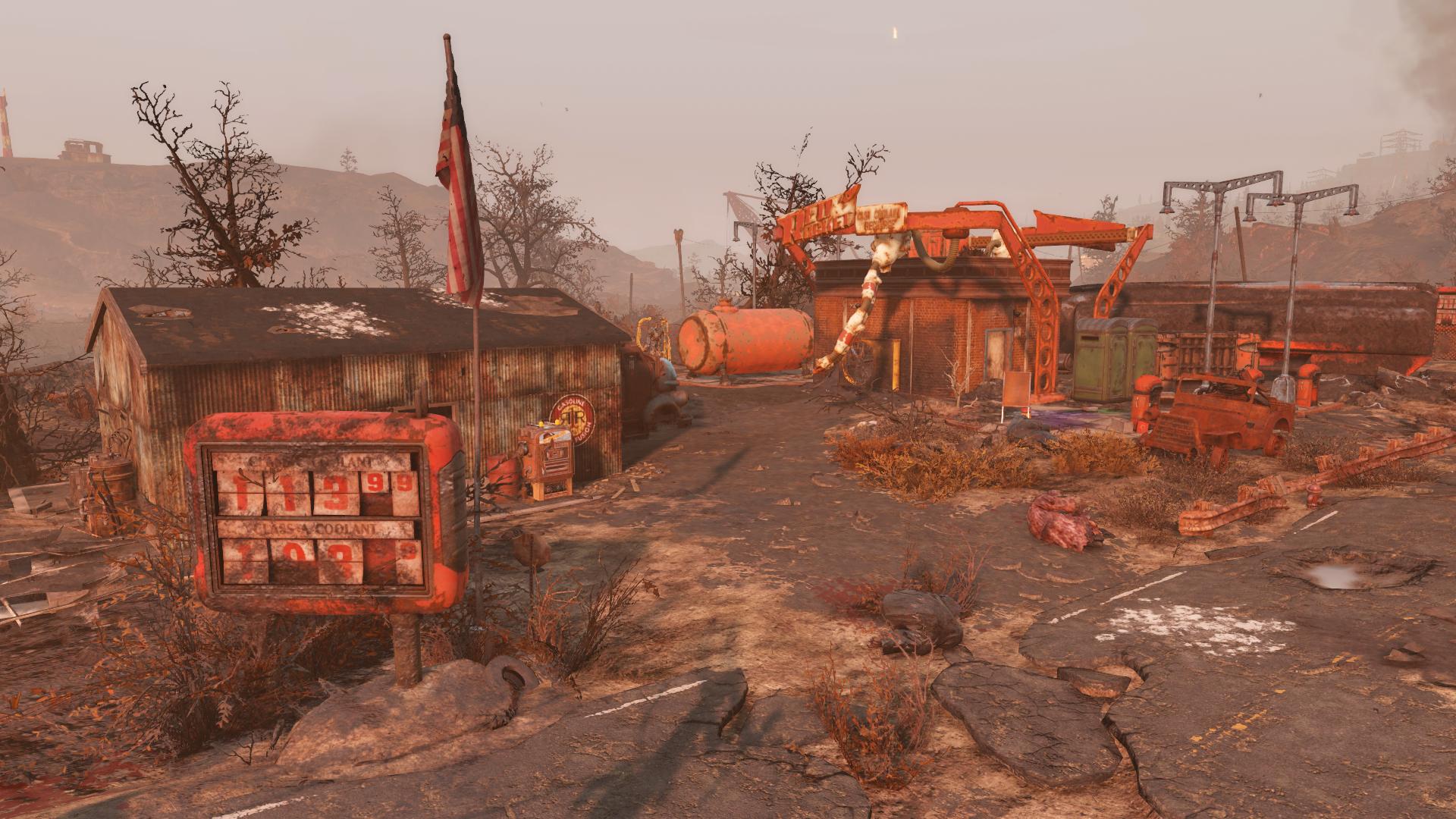 Red Rocket filling station