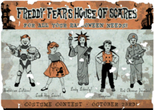 FO4 Freddy Fears House of Scares