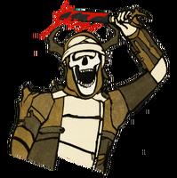 FO76 Legendary Perk Blood Sacrifice Art