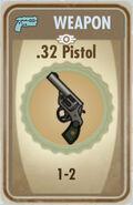 FoS 32 Pistol Card