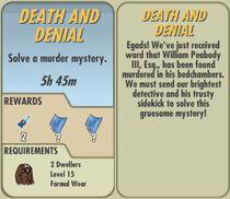 FoS Death and Denial card