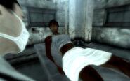Catherine in labor ward