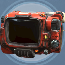 FO4 Creation Club - PipBoy Red Rocket.png