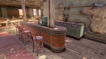 FO76WL The General's Steakhouse (Mysterious map fragment)