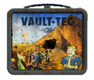 Vault-Tec lunchbox (Fallout 4) Front