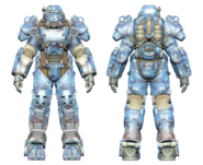 FO4CC T-60 power armor aquatic camo