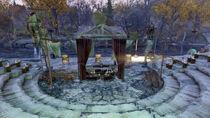 FO76 Point Pleasant (Mothman altar)