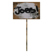 Fallout 76 Protest Sign 2 Jobs