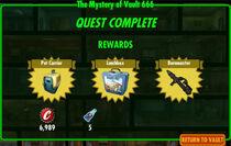 FoS The Mystery of Vault 666 rewards