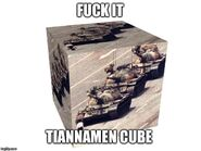 Tiannamen cube