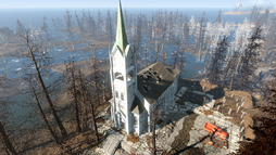 FO4FH Ruined church1.png