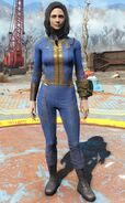 Fo4 vault jumpsuit female