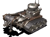 Tank track robot