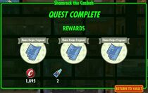 Shamrock rewards