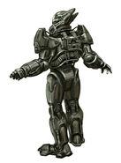Enclave armor CA1