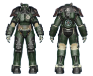 FO4CC X-01 power armor gunner corporal
