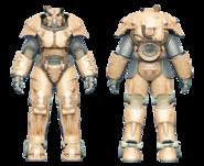 FO4CC X-01 power armor tan