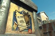 FO4NW Grey Tortoise poster bus stop