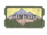 Pleasant Valley claim ticket