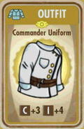 FoS Commander Uniform Card