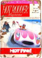 Hot rodder pink cover