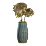 Teal rounded vase.png