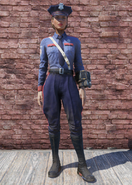 FO76 Responder Police Uniform with Hat