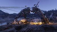 FO76 The Crater Evening