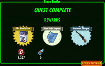 FoS Scare Tactics rewards