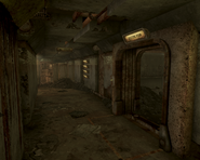 Vault 34 corridor