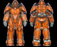 FO4CC X-02 power armor orange