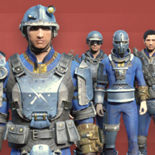 FO4 CC - Armor paint job Minutemen.png