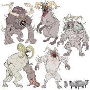 FO76 Chris Ortega concept (The SheepSquatch Monster) (5)