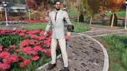 FO76 Twitch Clean Striped Suit Pose