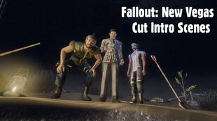 Fallout New Vegas Cut Intro Scenes