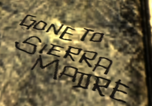 FoNV Gone to Sierra Madre