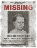 Freddy Woods missing poster