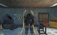 CC Hellfire power armor rear