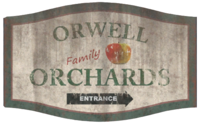 FO76 Orwell Orchards sign.png