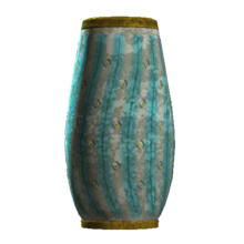 Empty teal rounded vase.png