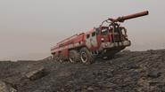 FO76 161020 Firetruck Ash Heap 2