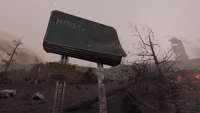FO76 161020 Mount Blair road sign