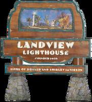 FO76 Landview sign
