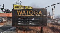 FO76 Watoga Population Sign