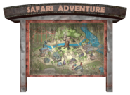 Safari Adventure map