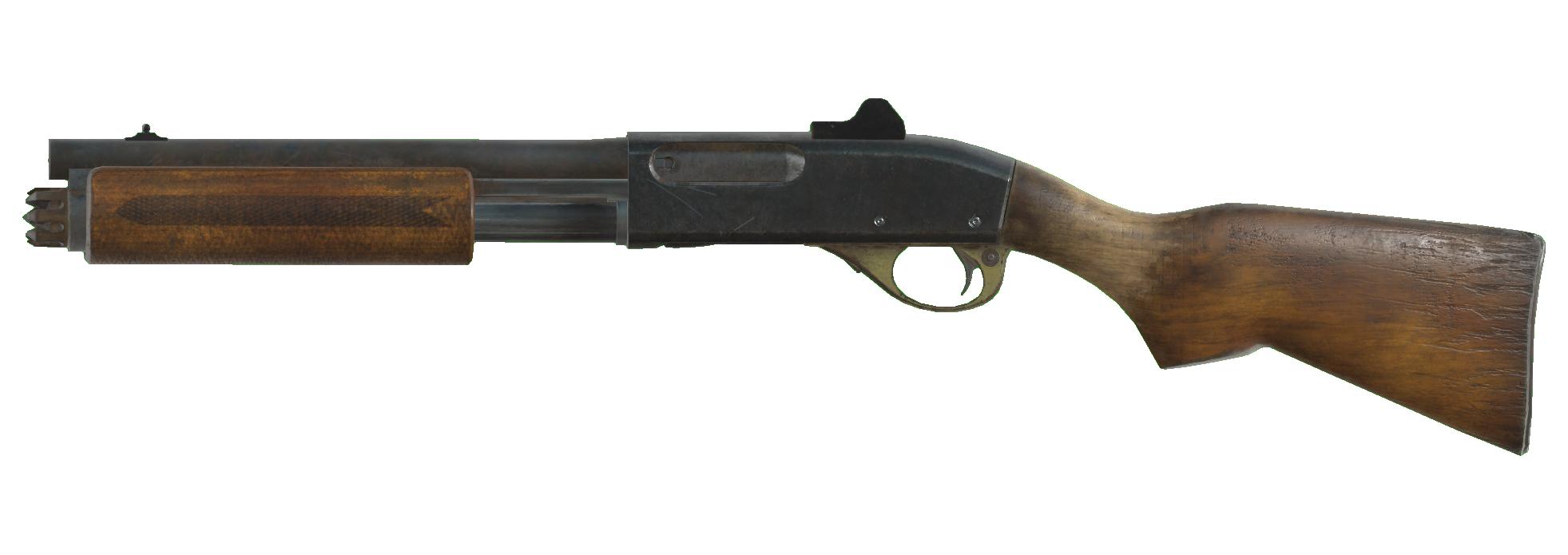 Pump action shotgun (Fallout 76)
